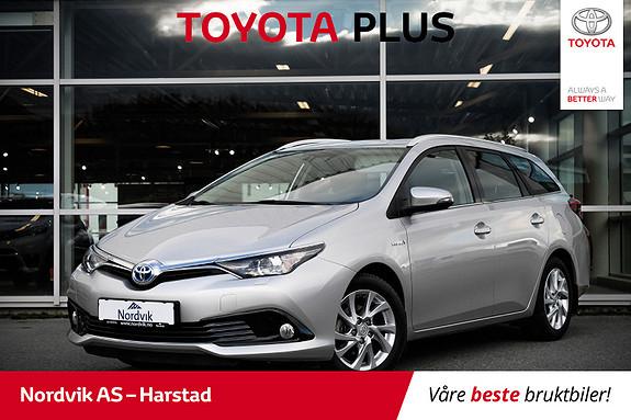 Toyota Auris 1,8 Hybrid E-CVT Active | NAVI, RYGGEKAMERA, DAB+ |  2016, 43270 km, kr 249000,-