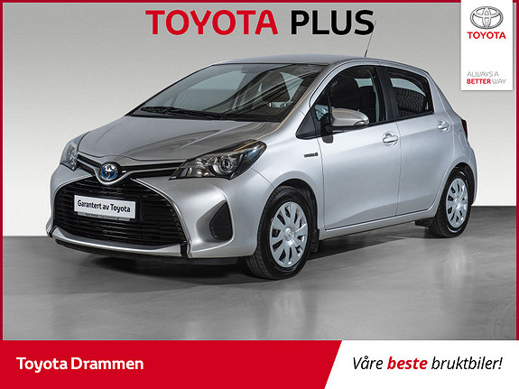 Toyota Yaris 1,5 Hybrid Active e-CVT INNBYTTEKAMPANJE 20 000,-  2015, 50100 km, kr 149000,-