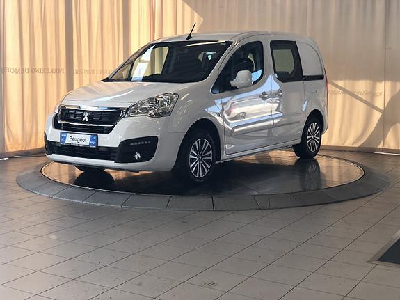 Peugeot Partner Mester 1,6 BlueHDi 100hk ETG6 L1  2018, 100 km, kr 195000,-