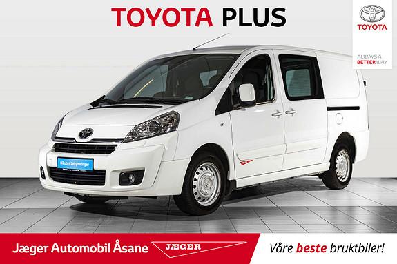 Toyota Proace 2,0 128hk L1H1  2015, 46000 km, kr 169000,-