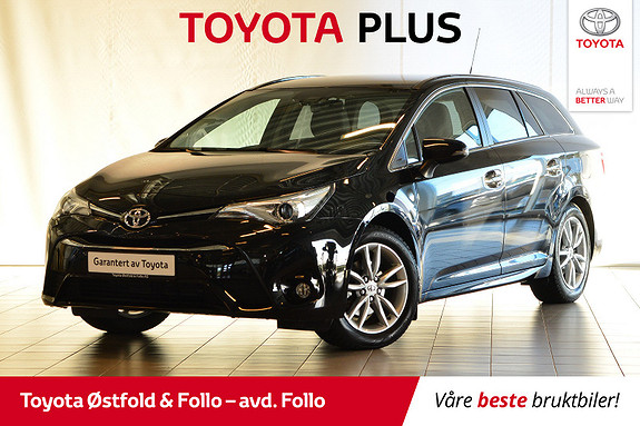 Toyota Avensis Touring Sports 1,8 Active M-drive S7  2018, 7 854 km, kr 345 678,-