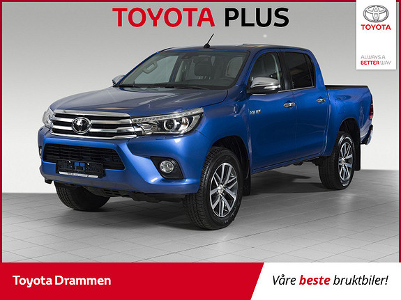 Toyota HiLux D-4D 150hk D-Cab 4WD SR+ aut INNBYTTEKAMPANJE 20000,-  2017, 13500 km, kr 409000,-