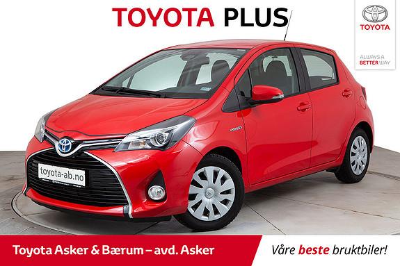 Toyota Yaris 1,5 Hybrid Active Go e-CVT aut KAMPANJE SE TEKST.  2017, 7600 km, kr 189000,-