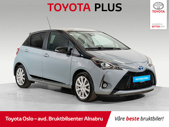 Toyota Yaris 1,5 Hybrid Bi Tone + e-CVT aut SE KM!  2018, 2074 km, kr 234900,-