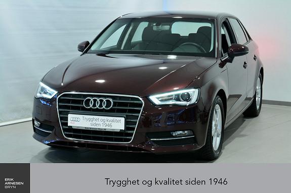 Audi A3 Sportback 1,2 TFSI 110hk Ambition INNBYTTEKAMPANJE*  2016, 12600 km, kr 199000,-