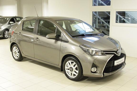 Toyota Yaris 1,5 Hybrid Active S e-CVT  2017, 62000 km, kr 179000,-