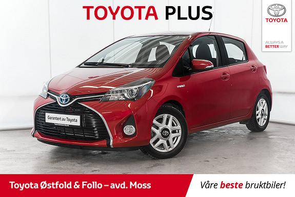 Toyota Yaris 1,5 Hybrid Active S e-CVT /CRUISE/NAVI/DAB+  2016, 8300 km, kr 184000,-