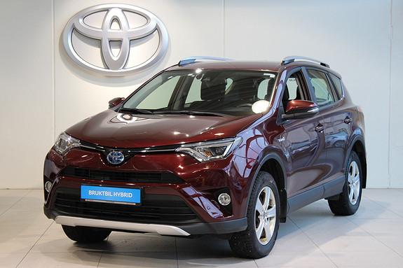 Toyota RAV4 2.5 Hybrid Automatgir AWD Active S  2017, 39175 km, kr 395000,-