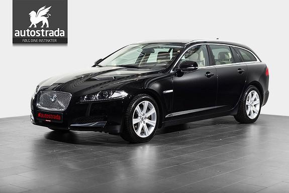 Jaguar XF 2.2  SPORTBRAKE NAV/KEYLESS/XENON  2013, 103000 km, kr 289000,-