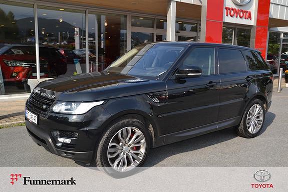 Land Rover Range Rover Sport 3,0 SDV6 306hk HSE Dynamic  2015, 64968 km, kr 739000,-