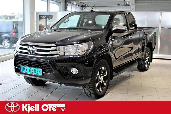 Toyota HiLux D-4D 150hk X-Cab 4WD SR m/ hengerfeste, Tectyl ++  2018, 18339 km, kr 379000,-