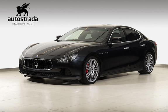 Maserati Ghibli 275 HK Turbodiesel  2016, 45000 km, kr 619000,-