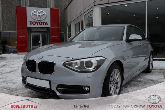 BMW 1-serie 116d EfficientDynamics Sport // DAB+ // Ny i Norge  2014, 45000 km, kr 159900,-