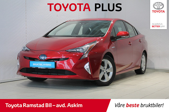 Toyota Prius 1,8 VVT-i Hybrid Executive  2016, 43827 km, kr 249000,-
