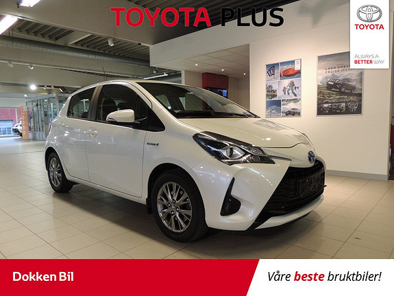 Toyota Yaris 1,5 Hybrid Active Go e-CVT aut  2017, 44700 km, kr 179000,-