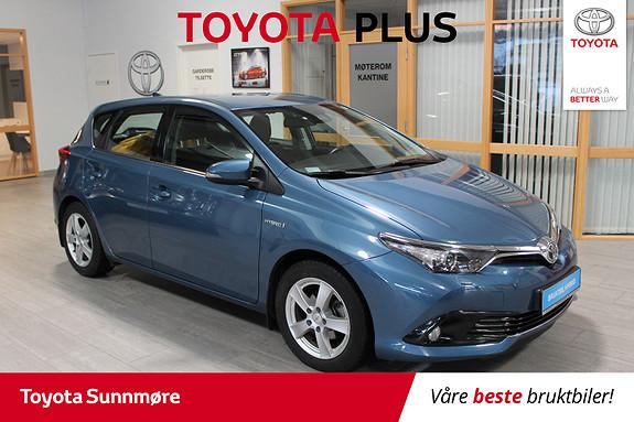 Toyota Auris 1,8 Hybrid E-CVT Active SJEKK PRISEN**NEDSATT MED 20.00  2017, 45282 km, kr 209000,-