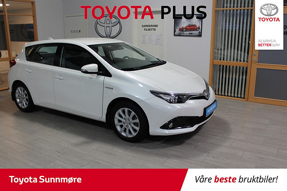 Toyota Auris 1,8 Hybrid E-CVT Active S **********KAMPANJEPRIS*******  2016, 44000 km, kr 189000,-