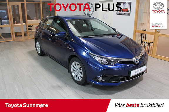 Toyota Auris 1,8 Hybrid E-CVT Active S **VELHOLDT**NYBILGARANTI**AUT  2016, 41000 km, kr 209000,-