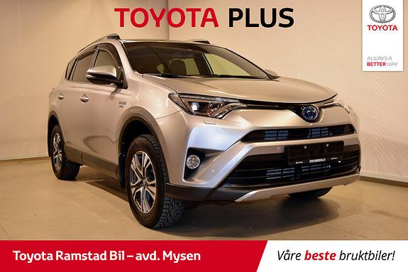 Toyota RAV4 Hybrid 4WD Active Style , privatkjørt, en eier,  2017, 48880 km, kr 399000,-