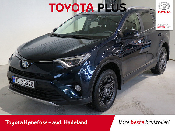Toyota RAV4 Hybrid AWD Executive  2018, 4 000 km, kr 474 900,-