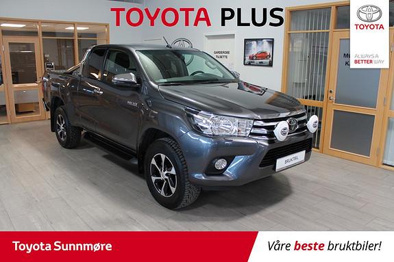 Toyota HiLux D-4D 150hk X-Cab 4WD SR **SJEKK DENNE**LAV KM**NORSK BI  2018, 16000 km, kr 389000,-