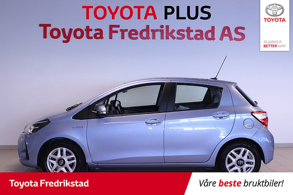 Toyota Yaris 1,5 Hybrid Active Go e-CVT aut  2017, 45100 km, kr 219000,-