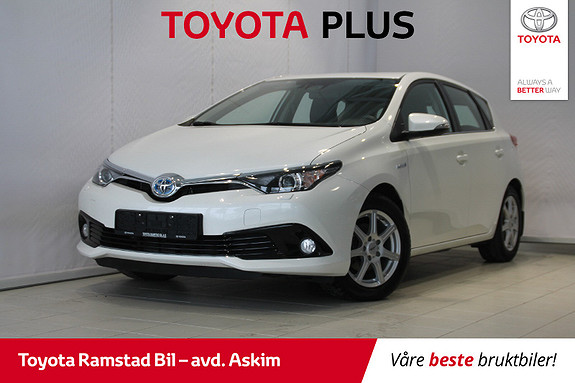 Toyota Auris 1,8 Hybrid E-CVT Active S  2015, 50539 km, kr 189000,-