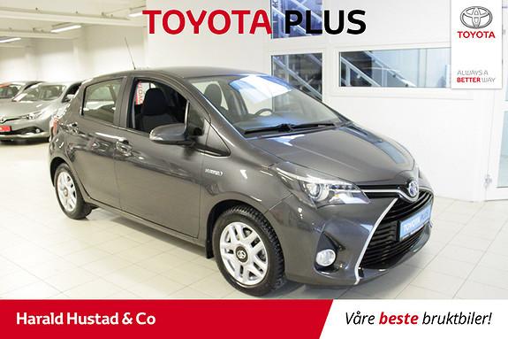 Toyota Yaris 1,5 Hybrid Active S e-CVT  2016, 53131 km, kr 174000,-