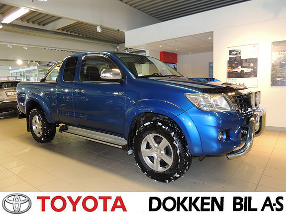 Toyota HiLux D-4D 144hk Extra Cab 4WD SR Tectylert  2015, 71000 km, kr 279000,-