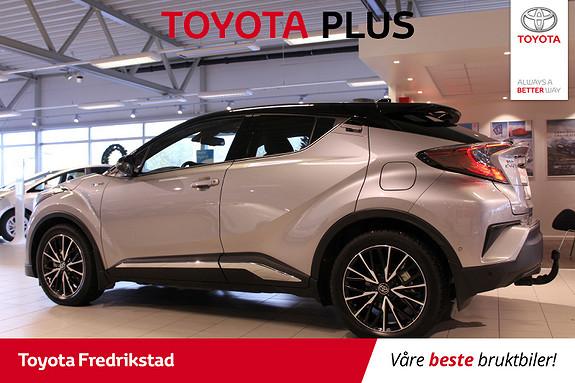 Toyota C-HR 1,8i Hybrid Dynamic Tech  2017, 7000 km, kr 339000,-