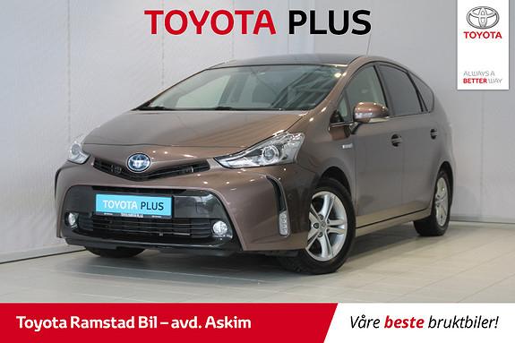 Toyota Prius+ Seven 1,8 VVT-i Hybrid Premium Adaptiv Cruise, Skinn, Glasstak  2015, 76300 km, kr 279000,-