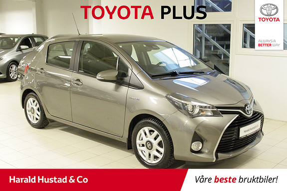 Toyota Yaris 1,5 Hybrid Active S e-CVT  2017, 61241 km, kr 179000,-