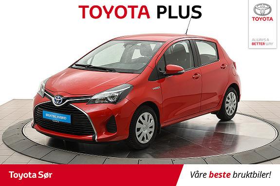 Toyota Yaris 1,5 Hybrid Active S e-CVT  2016, 37000 km, kr 169000,-
