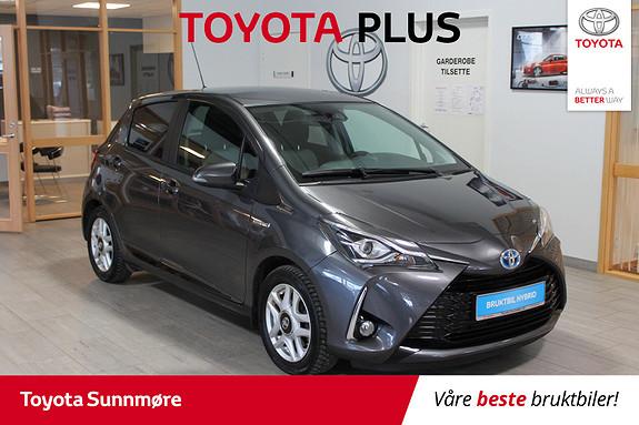 Toyota Yaris 1,5 Hybrid Active+ e-CVT aut  2017, 15227 km, kr 199000,-
