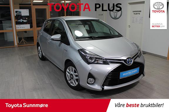 Toyota Yaris 1,5 Hybrid Active S e-CVT  2016, 39338 km, kr 169000,-
