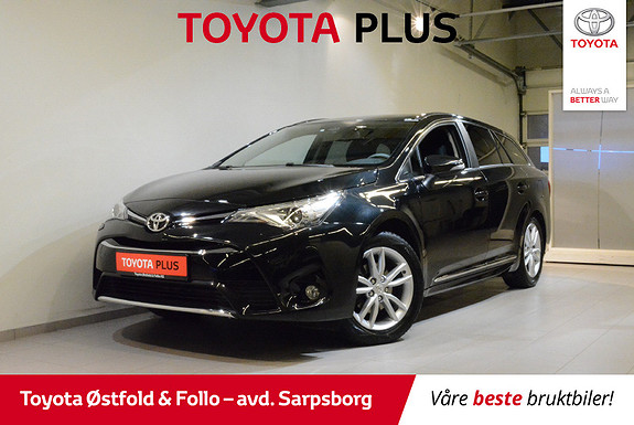 Toyota Avensis Touring Sports 1,8 Active Style M-drive S7  HENGERFESTE  2018, 16300 km, kr 368000,-