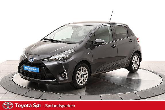 Toyota Yaris 1,5 Hybrid Active+ e-CVT aut  2018, 3000 km, kr 219000,-