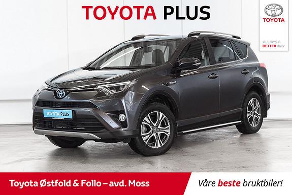 Toyota RAV4 Hybrid 4WD Executive /ALT/KROK/SKINN  2018, 15000 km, kr 468000,-