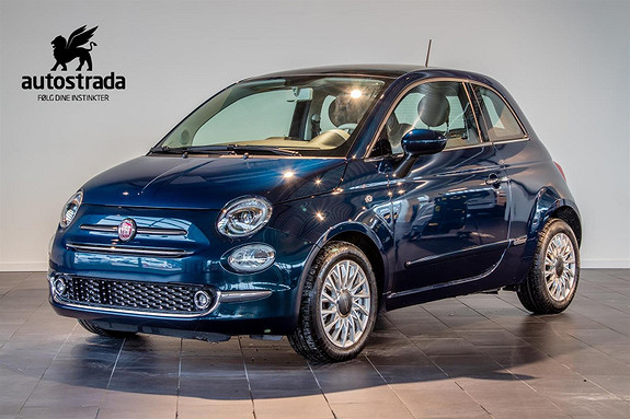 Fiat 500 0.9  Lounge 85hk 0,- innskudd