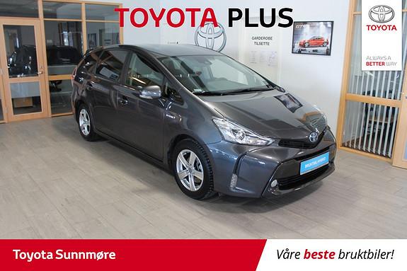 Toyota Prius+ Seven 1,8 VVT-i Hybrid Executive **VELHOLDT**LAV KM**EL.SETER  2018, 6600 km, kr 359000,-