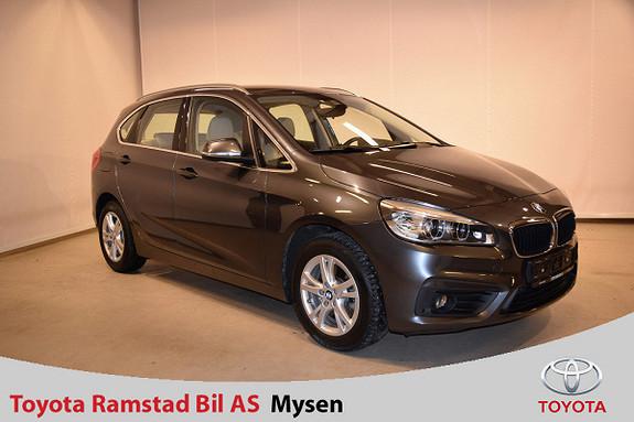 BMW 2-serie 218i Active Tourer aut , velholdt og meget pen,  2015, 52000 km, kr 219000,-