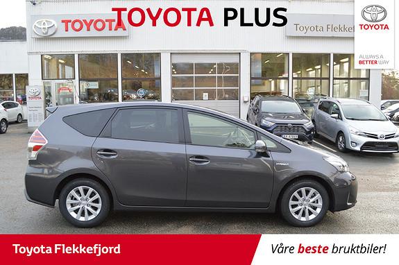 Toyota Prius+ Seven 1,8 VVT-i Hybrid Executive FAMILIEBIL  2018, 16242 km, kr 349000,-