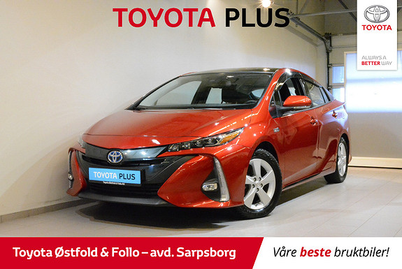 Toyota Prius Plug-in Hybrid 1,8 VVT-i Solar PHV  2018, 16700 km, kr 308000,-