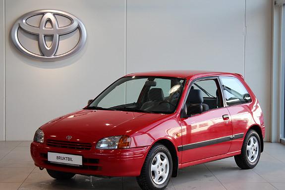 Toyota Starlet 1,3 SLI 75HK  1996, 166226 km, kr 16000,-