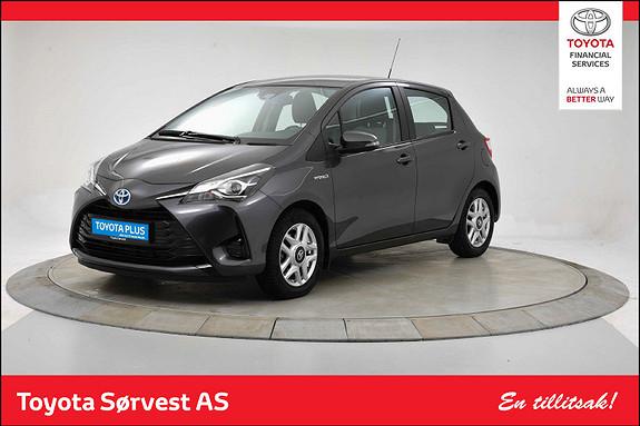 Toyota Yaris 1,5 Hybrid Active e-CVT aut  2018, 17560 km, kr 219000,-
