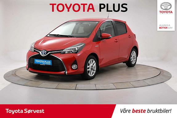 Toyota Yaris 1,5 Hybrid Style e-CVT  2016, 34989 km, kr 189000,-