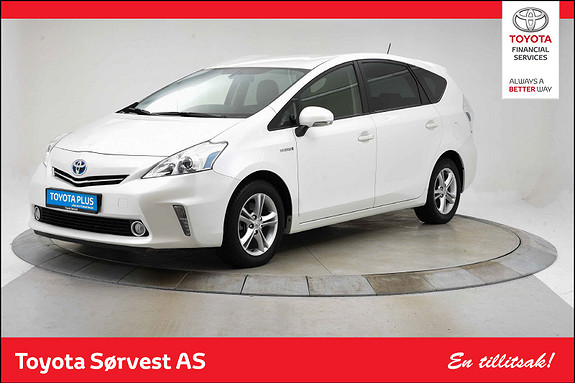 Toyota Prius+ Seven 1,8 VVT-i Hybrid Executive  2014, 50805 km, kr 239000,-