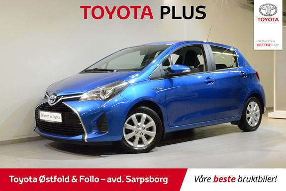 Toyota Yaris 1,5 Hybrid Active e-CVT  2015, 58000 km, kr 148000,-