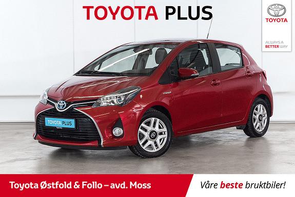 Toyota Yaris 1,5 Hybrid Active S e-CVT /FULL SERVICEHISTORIKK/DAB+  2016, 32700 km, kr 174000,-