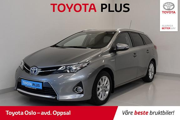Toyota Auris Touring Sports 1,8 Hybrid Active+ , Unik KM stand!  2014, 5070 km, kr 199000,-